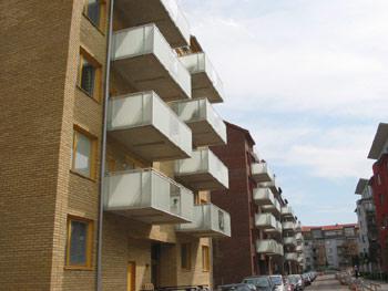 Befästningskullen, flerbostadshus Solna 1