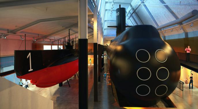 Ubåtshall, Marinmuseum Karlskrona 6