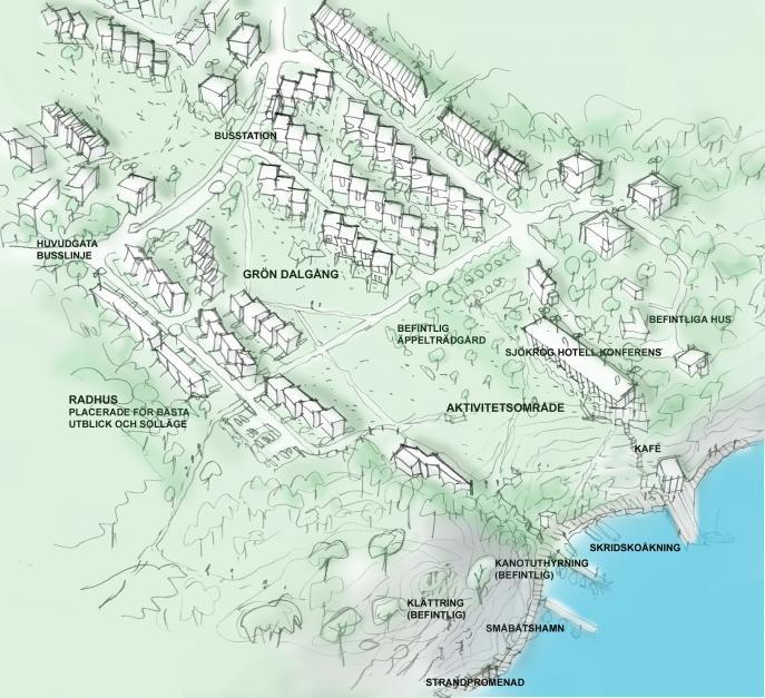 Kungsängen, stadsplanering Upplands-Bro 1