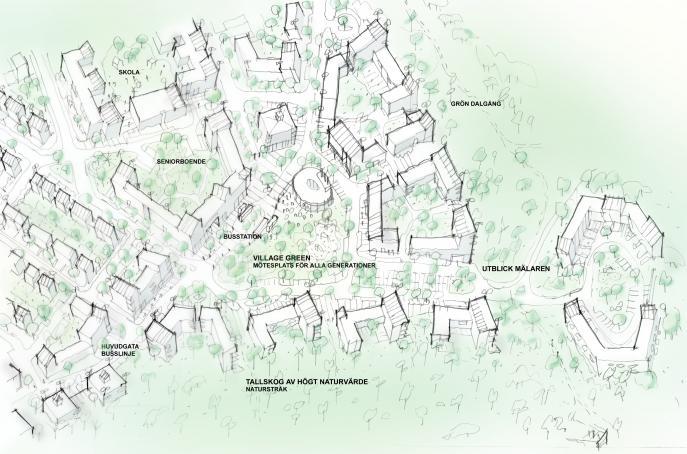 Kungsängen, stadsplanering Upplands-Bro 0