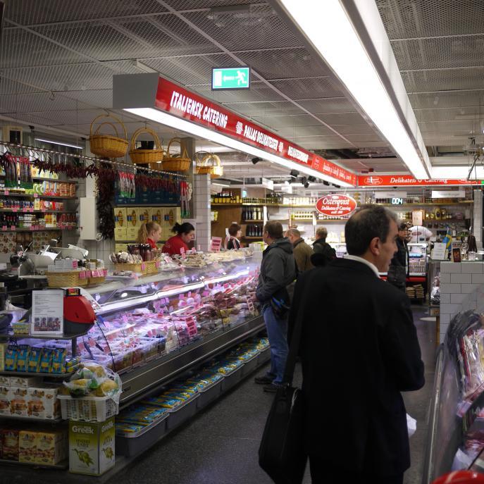 Hötorgshallen, detaljhandel Stockholm 8