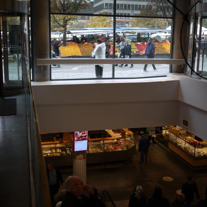 Hötorgshallen, detaljhandel Stockholm 10