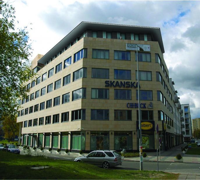 J. Zajaszka Zoliborz, kontor och bostäder Warszawa 1
