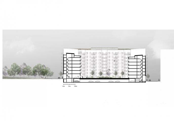 Kista Äng, flerbostadshus detaljplan Stockholm 1