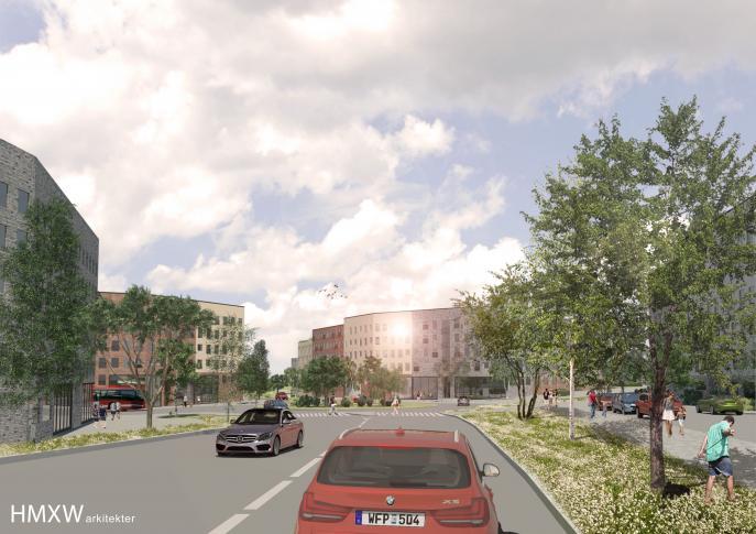 Rankhus, stadsplanering detaljplan Kungsängen Upplands-Bro 2