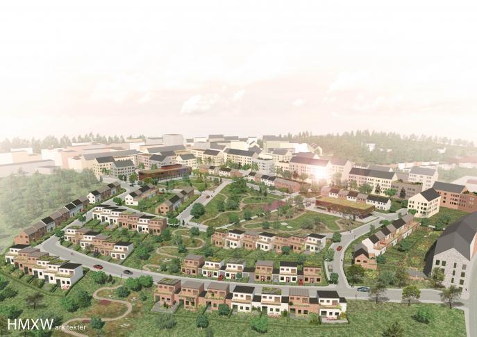 Rankhus, stadsplanering detaljplan Kungsängen Upplands-Bro 0