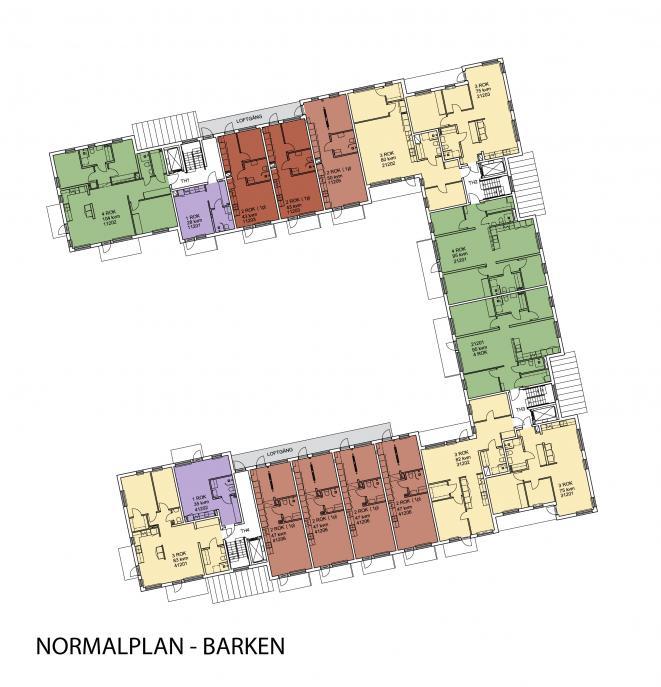 Barken, flerbostadshus Östra kanalstaden Åkersberga 0