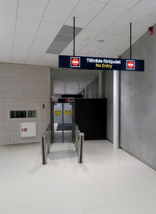 Bromma ny ankomsthall, flygplats Stockholm 1