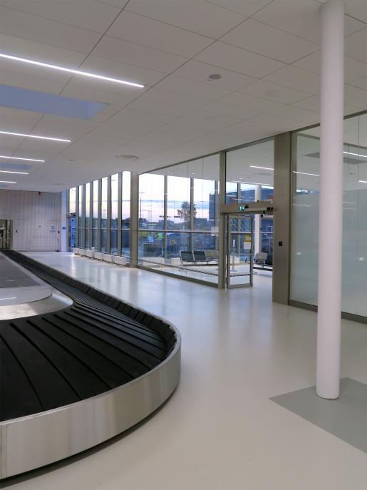 Bromma ny ankomsthall, flygplats Stockholm 7