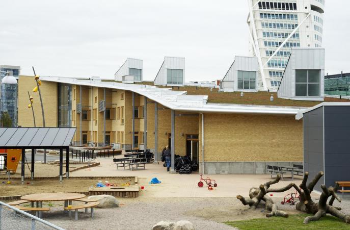 Västra Hamnen, skola Malmö 0