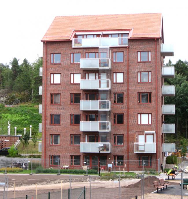 Befästningskullen, flerbostadshus Solna 2