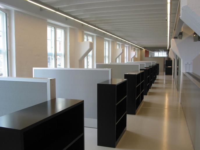 Kanonverkstaden, arbetsplatser för Moderna Muséet 0