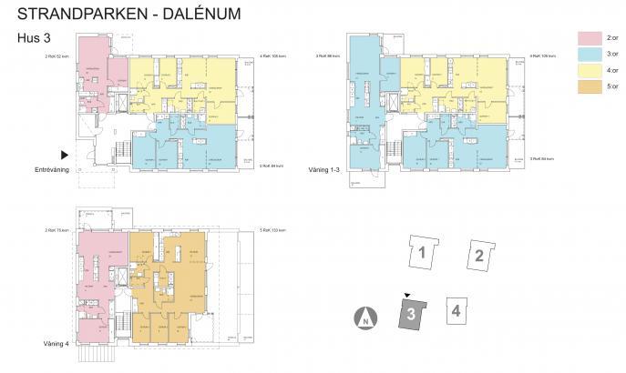 Dalenum, flerbostadshus och gestaltningsprogram Lidingö 5