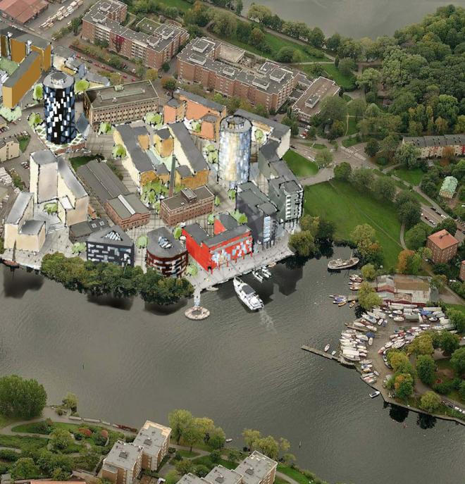 Beckers, stadsplanering Lövholmen Stockholm 0