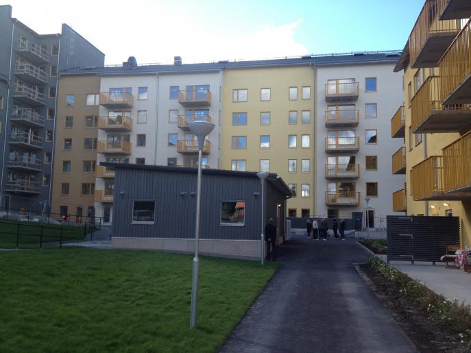 Skörden och Ladan, flerbostadshus Ursvik Sundbyberg 5