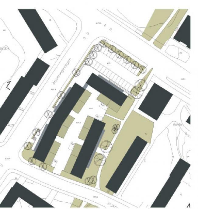 Largen, bostäder Årsta Stockholm 0